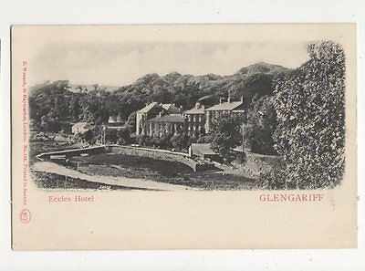 Eccles Hotel Glengariff Co Cork Ireland Vintage U/B Postcard 157a