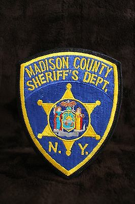 Madison County Sheriff's Dept. New York Patch Police Memorabilia - Collectables