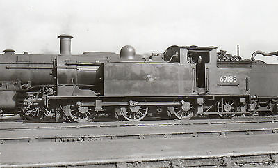 Photo Ex LNER Class N15  No 9188 seen at Eastfield shed yard  PHG
