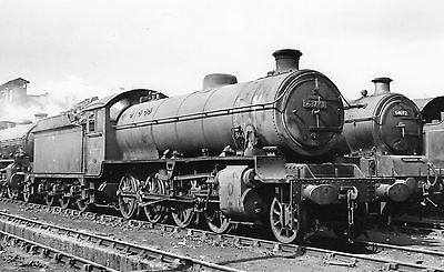 Photo Ex LNER Class O1 No 63773 seen at Doncaster shed yard