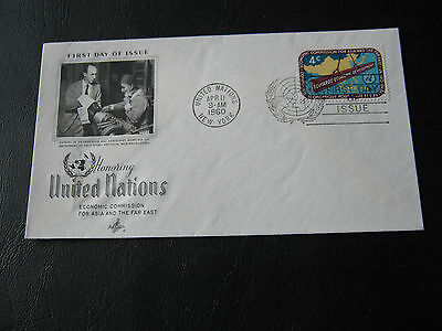 U.S. - United Nations FDC - 1960 - Honouring the UN (2575)