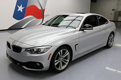 2014 BMW 4-Series Base Coupe 2-Door 2014 BMW 428I COUPE SPORT LINE SUNROOF PADDLE SHIFT 20K #711199 Texas Direct