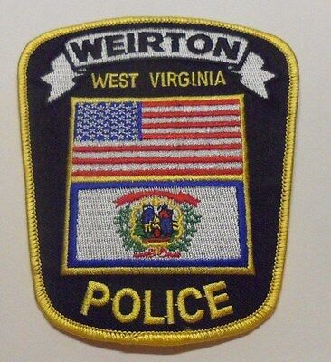 Weirton West Virginia Police Patch Unused