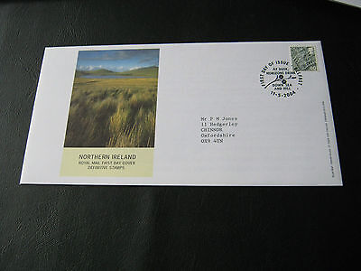 N Ireland FDC - 11 - 5- 2004 - Definitives - with Special Belfast cancel (2540)