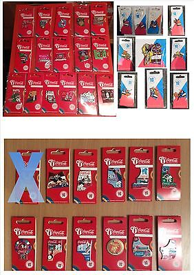 London 2012 Olympics Coca Cola 50 Pin Badges Starter Pack