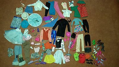 Barbie Clothing and Shoes Job Lot