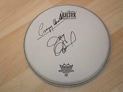 Jay Osmond The Osmonds Signed Drumhead