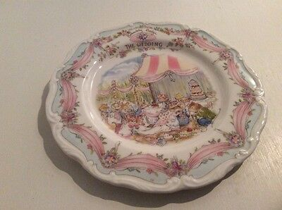 Brambly Hedge The Wedding Plate  1st Quality