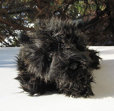 Cairn Terrier  Plush Lying Down Toy