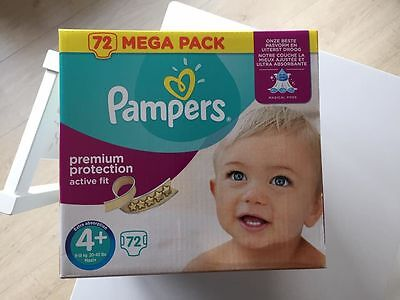 PAMPERS ACTIV FIT 4+ 72 pièces BOITE FERMEE 15€