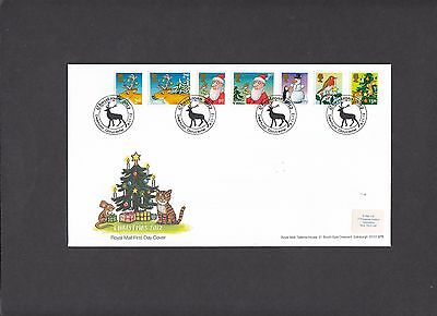 2012 Christmas Royal Mail First Day Cover special handstamp