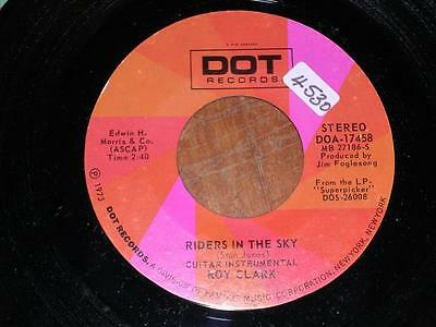 ROY YOUNG - Riders In The Sky / Roy's Guitar Boogie - DOT DOA17458 - 1973 - USA