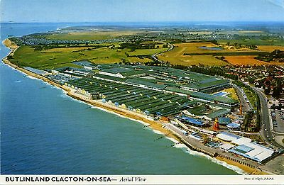 Butlin's Holiday Camp - Clacton On Sea - Aerial View - Postcard
