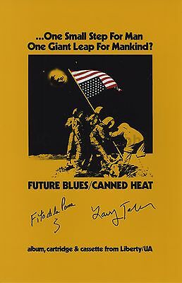 Canned Heat - Classic Rock Band - Autographed 11x17 Photograph