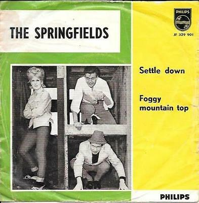 DUSTY SPRINGFIELD with THE SPRINGFIELDS 45 SETTLE DOWN+PS HOLLAND VERY RARE