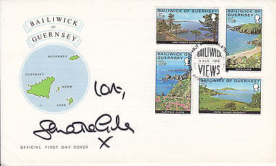 Samantha Giles Signed Guernsey Fdc