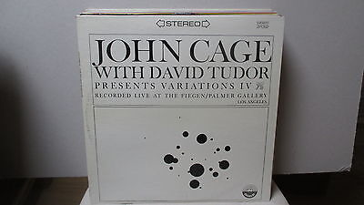 John Cage With David Tudor ‎– Variations IV LP , Everest 3132, Reissue