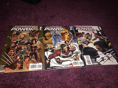 Ultimate Power Issues 1-3