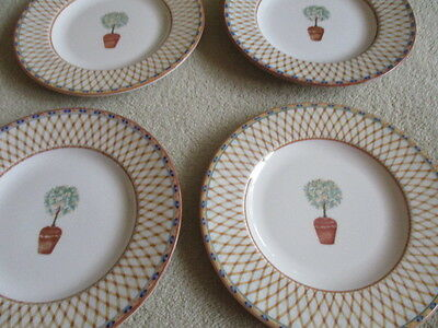 Tesco Lemon Tree 21 cm plates x 4