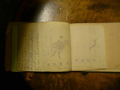 Autograph Book Signed By The Crew Members Of Hms Dreadnought Drawings Poems Ect