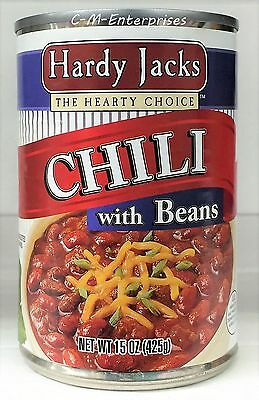 Hardy Jacks Chili with Beans 15 oz ( 3 Cans )