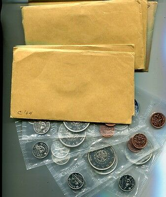 Canada 1964  6 Coin Proof Set Choice Proof Lot Of 10