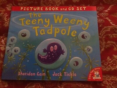 The Teeny Weeny Tadpole. Little Tiger Press Book And Cd.