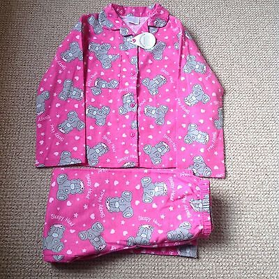 Girls Aged 7-8 Years Me To You Pyjamas New With Labels Pretty Ideal For Xmas.