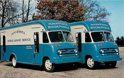 Minnesota Mobile Library Bookmobile, Gerstenslager Truck, Wooster, Ohio,No 7227B