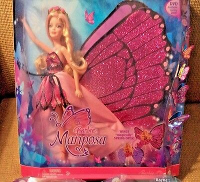 Barbie Magic Wings Mariposa  *nu*