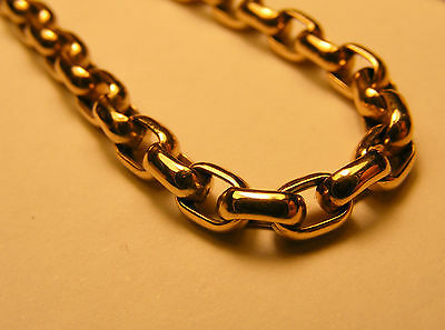 Nice 9ct Yellow Gold 20 Inch Chain Necklace...Full Hallmarks...8 Grams