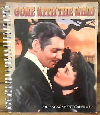 GONE WITH THE WIND  ~  2002 Engagement Calendar