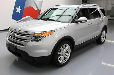 2012 Ford Explorer Limited Sport Utility 4-Door 2012 FORD EXPLORER LTD ECOBOOST DUAL SUNROOF NAV 61K MI #A03488 Texas Direct