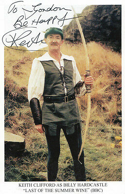 Keith Clifford Last Of The Summer Wine Hand Signed Photo