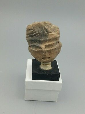 Pre Columbian Mayan Figure # 1 From Important Collection