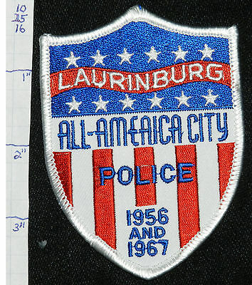 North Carolina, Laurinburg Police Dept Patch