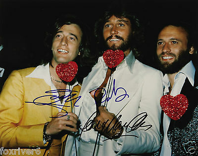 BEE GEES Signed Photograph - Pop Singers / Vocalists / Songwriters