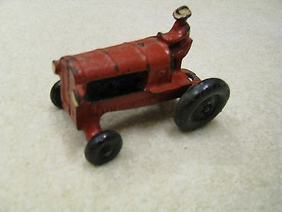 Vintage Allis Chalmers Tractor Toy Cast Iron