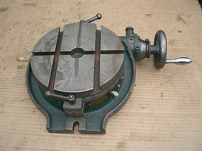 "8""  Horzontal rotary table  Made in Japan"