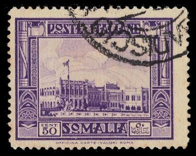 "SOMALIA 146a (Mi179C) - Governor's Palace at Mogadishu ""Perf 14.0"" (pf99824)"