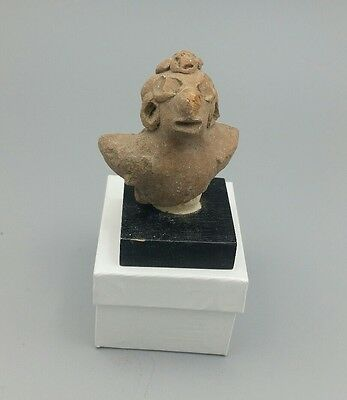 Pre Columbian Mayan Figure # 3, From Important Collection