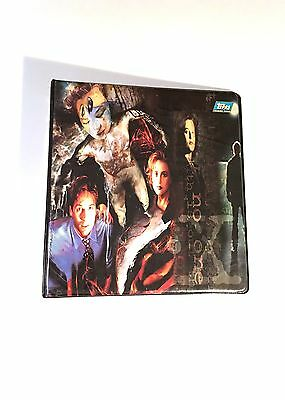 The X-Files Season One/Two/Three 1/2/3 trading card binder by Topps 1995 album