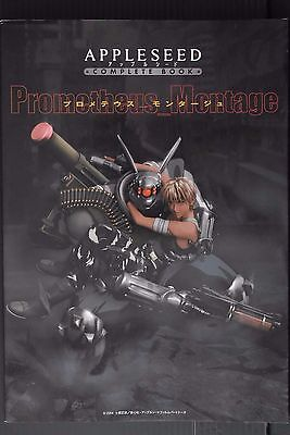 """JAPAN  Appleseed Complete Book """"Prometheus Montage"""" Cover Damage"""