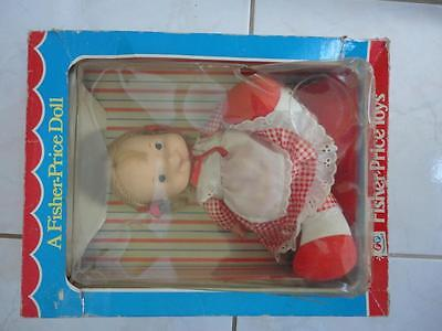 1973 Fisher Price MARY Doll Mint on Card in Box Still Attached / Unused!