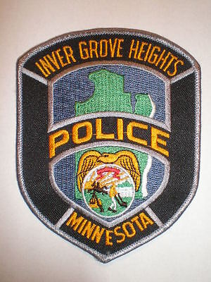 Minnesota Inver Grove Heights police patch MN
