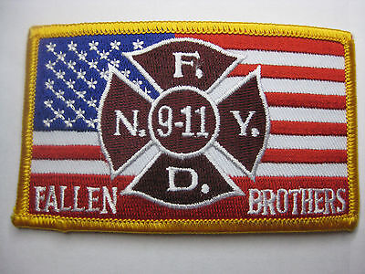 U.s. Fire Brigade Fire Patch Patch Fdny 9-11 Fall Brothes New Carnival
