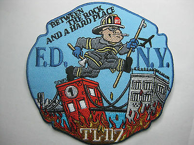 U.s. Fire Brigade Fire Patch Patch Fdny Tower Ladder 117 New Carnival