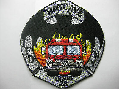 U.s. Fire Brigade Fire Patch Patch Fdny Engine 26 Batcave New Carnival
