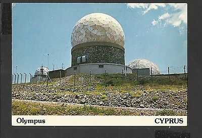 A. Dixon Colour Postcard Olympus Meteorological Station Troodos Cyprus Unposted