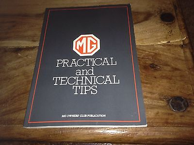 MG Practical and Technical Tips Manual . GC . Owners Club Publication